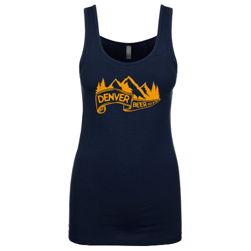 ------ONLINE ONLY------Denver Beer Co Tank Top with Banner Logo MAIN