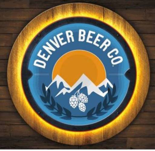 Denver Beer Co LED Sign - Color MAIN