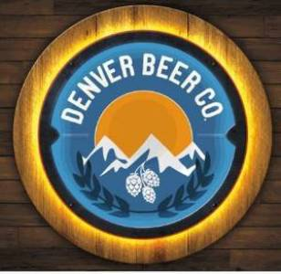 Denver Beer Co LED Sign - Color THUMBNAIL