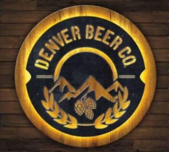 Denver Beer Co LED Sign - Metal MAIN