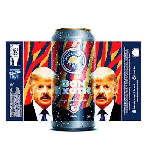 *Don Exotic Mango Peach Blonde (32 Oz. Crowler) THUMBNAIL