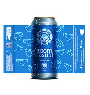 *Zoom Casual American IPA (32 Oz. Crowler) MAIN
