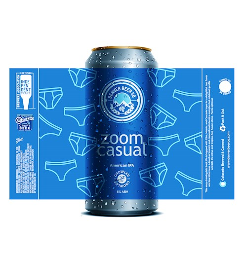 *Zoom Casual American IPA (32 Oz. Crowler) THUMBNAIL
