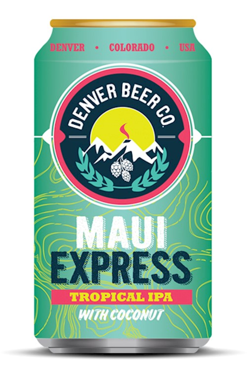 Maui Express Tropical IPA with Coconut - 6 Pack THUMBNAIL