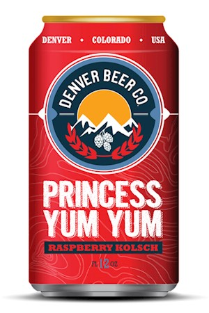 Princess Yum Yum Raspberry Kolsch - 6 Pack MAIN