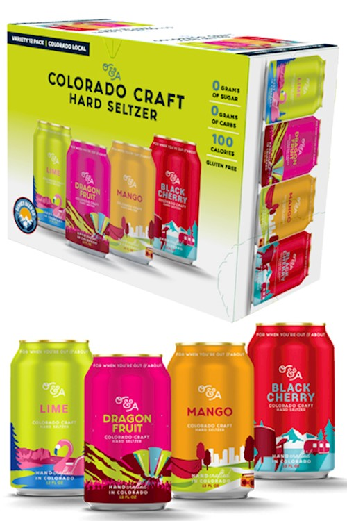 O&A Colorado Craft Hard Seltzer - Variety Pack THUMBNAIL