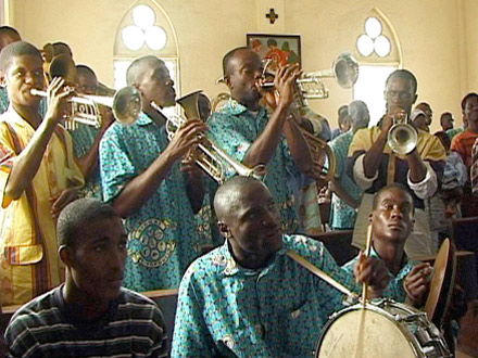 An African Brass Band