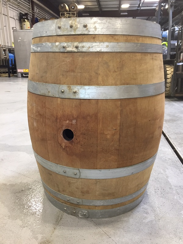 Used Burgundy Wine Barrel MAIN