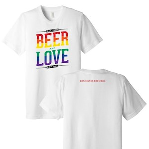 Love & Beer T-Shirt LARGE