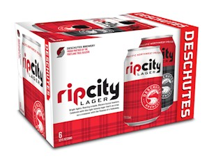 Rip City Lager 6pk Cans LARGE