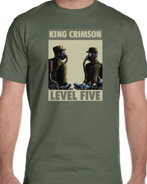 T-Shirt - Level Five (Retro Design) MAIN