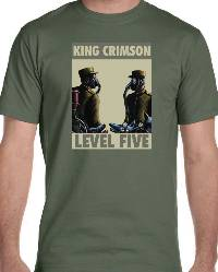 T-Shirt - Level Five (Retro Design) THUMBNAIL