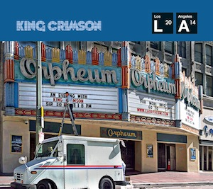 King Crimson - Live At The Orpheum (CD/DVD-A) MAIN