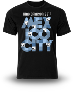 T-Shirt - 2017 Tour - Elements Mexico City