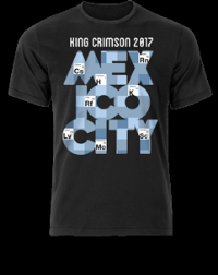 T-Shirt - 2017 Tour - Elements Mexico City THUMBNAIL