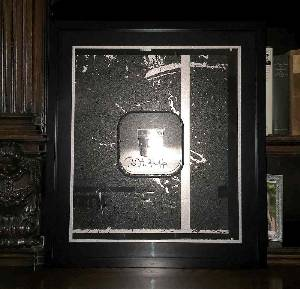 Holy Relic 5: Autographed & Framed Film From THRaKaTTaK
