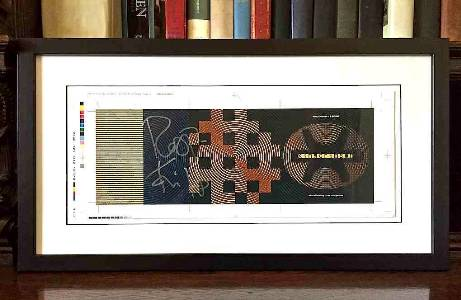 Holy Relic 10: Autographed and Framed B'Boom Match Print