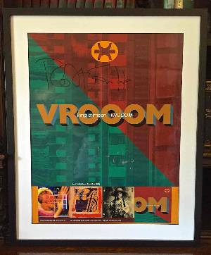 Holy Relic 9: Autographed & Framed VROOOM Poster Proof LARGE