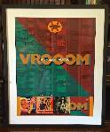 Holy Relic 9: Autographed & Framed VROOOM Poster Proof THUMBNAIL