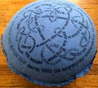 Pillow - Aphorism (Blue) THUMBNAIL