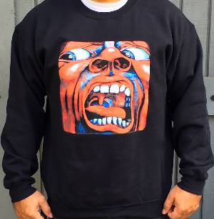 Sweatshirt - King Crimson -   In the Court of the Crimson King (Black) MAIN