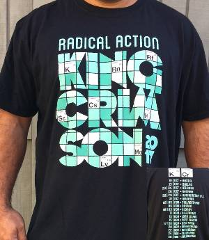 T-Shirt - 2017 Tour - Elements Radical Action (2nd Leg) MAIN