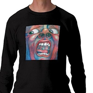 T-Shirt - In the Court of the Crimson King -Longsleeve LARGE