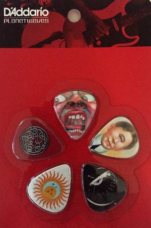 Guitar Picks - King Crimson MAIN