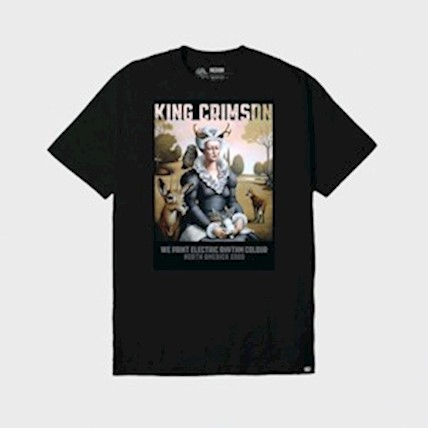 King Crimson - 2020 Tour T-Shirt: We Paint Electric Rhythm Colour LARGE