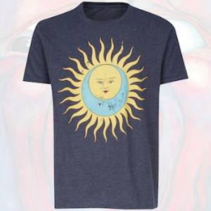 T-Shirt - Larks' Tongue In Aspic (Vintage Darker Blue Distressed) MAIN