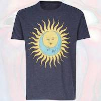 T-Shirt - Larks' Tongue In Aspic (Vintage Darker Blue Distressed) THUMBNAIL
