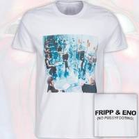 T-Shirt - Fripp & Eno - No Pussyfooting