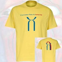 T-Shirt - Three Of A Perfect Pair THUMBNAIL