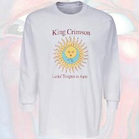 T-Shirt - Larks' Tongues in Aspic (White, Long Sleeve) THUMBNAIL