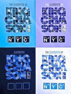Poster - The Elements Of King Crimson Tour Poster (NYC) 2014 LARGE