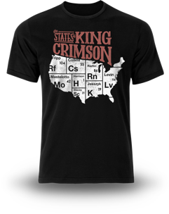 T-Shirt - 2017 Tour - States MAIN