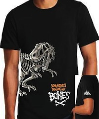 T-Shirt - Dinosaur - King Crimson Tee THUMBNAIL