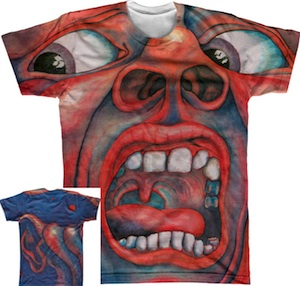 T-Shirt - In the Court of the Crimson King (Wraparound) MAIN