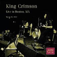 King Crimson - CC- Live in Boston, MA, March 27, 1972 THUMBNAIL