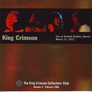 King Crimson - CC - Live at Summit Studios 1972 MAIN