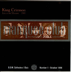 King Crimson - CC - Live at The Marquee 1969