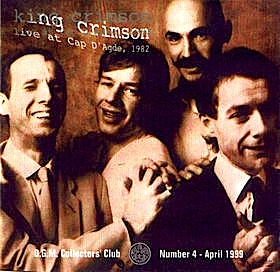 King Crimson - CC - Cap D' Agde, France.  August 26, 1982 MAIN