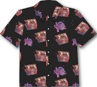 Schizoid Hawaiian Aloha Shirt THUMBNAIL