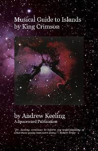Andrew Keeling Book - Musical Guide to Islands by King Crimson THUMBNAIL