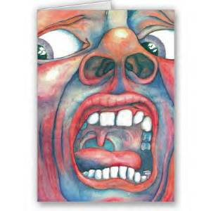 King Crimson Greeting Cards MAIN