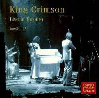 King Crimson - CC- Live in Toronto, June 24, 1974 THUMBNAIL