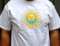 T-Shirt - Larks' Tongues in Aspic (white with no text) THUMBNAIL