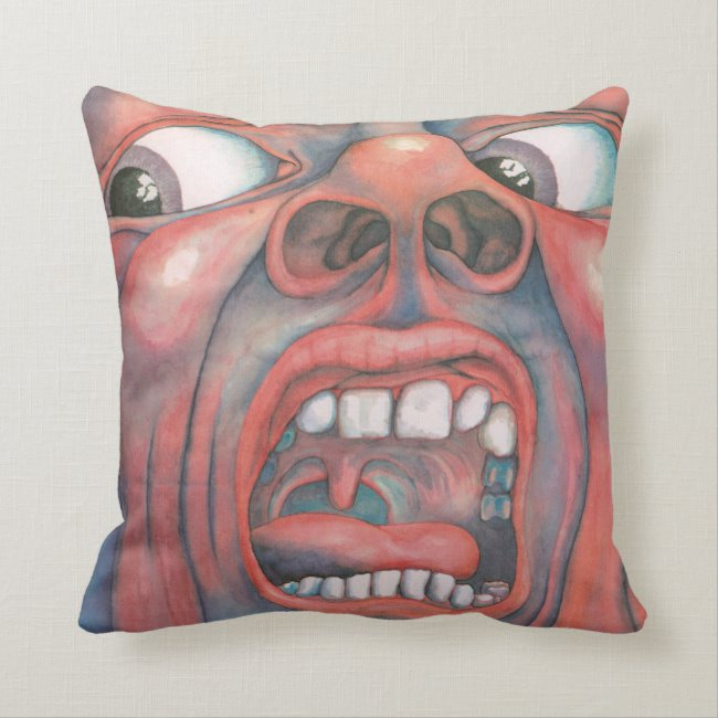 King Crimson Pillow - Various Design Options SWATCH