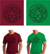 T-Shirt - Aphorism (Antique Cherry Red or Heather Irish Green)