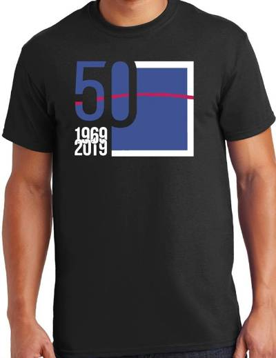 T-Shirt - Space Groove 50th Anniversary Edition LARGE